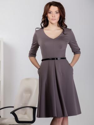 Платье Marlen. Цвет: темно-бежевый