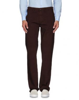 Повседневные брюки SARTORE. Цвет: коричневый
