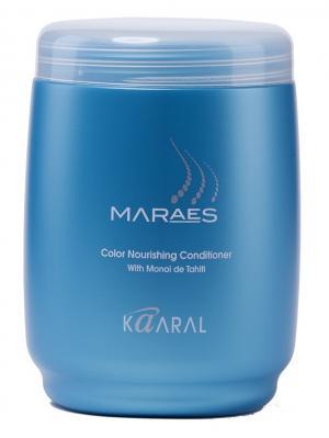 Maraes Питательная маска Color Nourishing Mask 1000мл. Kaaral. Цвет: синий