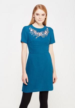 Платье Oasis. Цвет: голубой