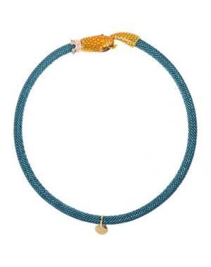 Ожерелье LA HORMIGA. Цвет: лазурный