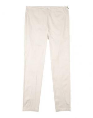 Повседневные брюки PARROT. Цвет: светло-серый