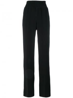 Свободные прямые брюки Givenchy. Цвет: чёрный