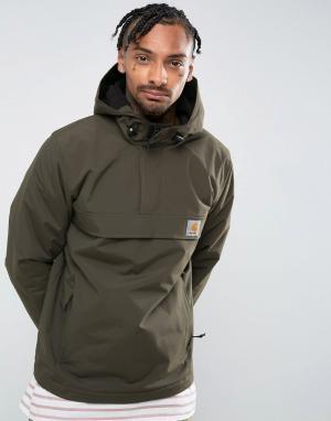Carhartt Куртка цвета хаки WIP Winter Nimbus. Цвет: темно-синий