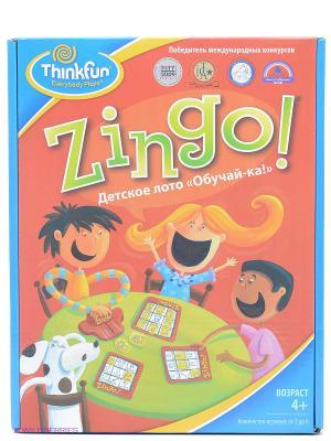Игра-головоломка Детское лот Think Fun. Цвет: голубой