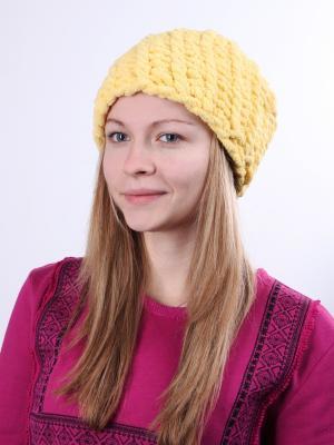 Шапка KONONO. Цвет: желтый