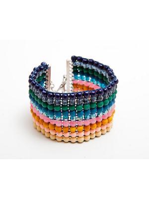 Браслет Kameo-bis. Цвет: зеленый, оранжевый, розовый, синий