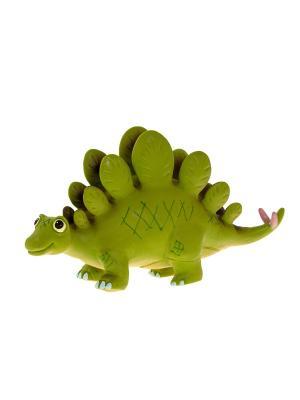 Игрушка фигурка мульт динозавр Стегозавр HGL. Цвет: зеленый