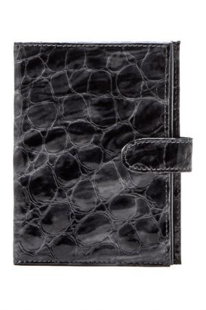 Бумажник Frija. Цвет: серый, асфальтовый
