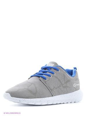 Кроссовки Ascot. Цвет: серый, голубой