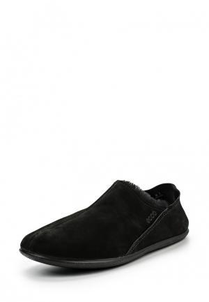 Тапочки Ecco. Цвет: черный