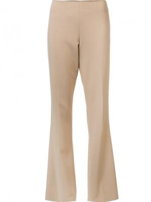 Tailored flared trousers Trina Turk. Цвет: телесный