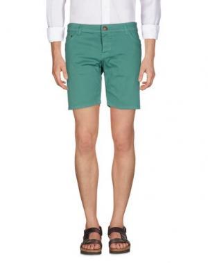 Повседневные шорты BASICON. Цвет: зеленый