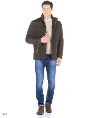 Куртка Milton. Цвет: коричневый