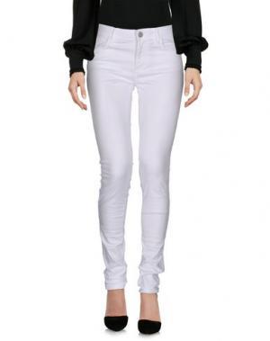 Повседневные брюки UFFICIO 87. Цвет: белый