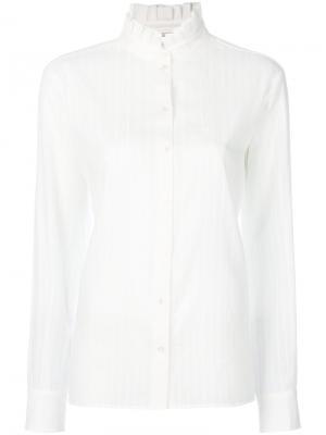 Классическая рубашка Vanessa Bruno. Цвет: белый