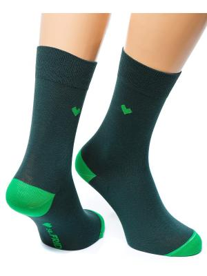Дизайнерские Носки St.Friday Socks. Цвет: хаки