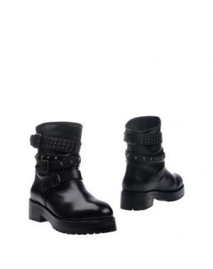Полусапоги и высокие ботинки MR. WOLF. Цвет: черный