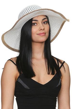 Шляпа Tonak. Цвет: белый, золотой