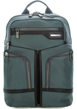 Текстильный рюкзак с двумя отделами Samsonite. Цвет: серый