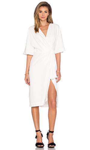 Платье georgia TY-LR. Цвет: белый