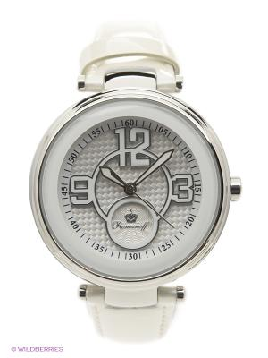 Часы Romanoff. Цвет: серебристый