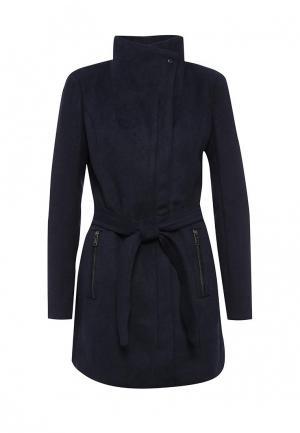 Пальто Vero Moda. Цвет: синий