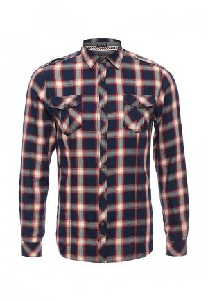 Рубашка E-Bound. Цвет: синий
