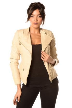 Куртка Pellessimo. Цвет: бежевый
