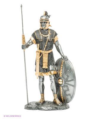 Статуэтка Римский воин Veronese. Цвет: серый, золотистый