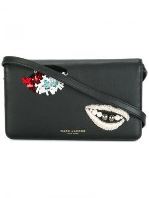 Декорированная сумка через плечо Marc Jacobs. Цвет: чёрный