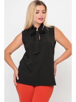 Блузка Limonti. Цвет: черный