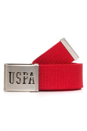 Ремень U.S. Polo Assn.. Цвет: 850 красный