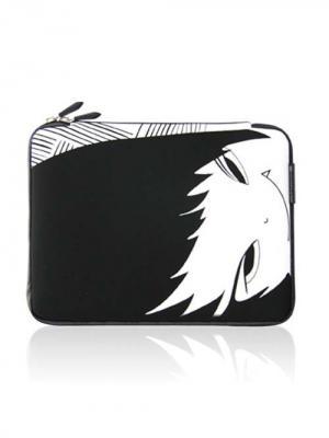 Чехол для MacBook Вампир Kawaii Factory. Цвет: черный