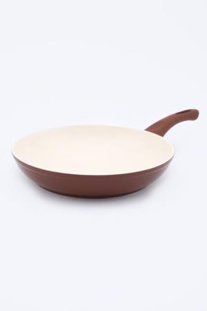 Сковорода 26 см Green Top. Цвет: коричневый