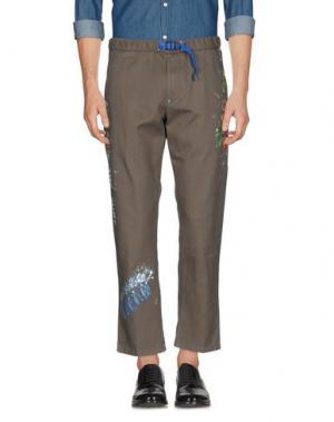 Повседневные брюки WHITE SAND 88. Цвет: зеленый-милитари