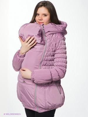 Куртка Nuova Vita. Цвет: сиреневый