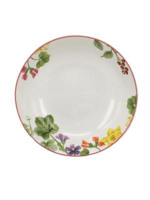 Набор тарелок суповых (3шт.) 20см. Tognana porcelane. Цвет: белый