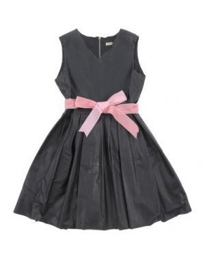 Платье MIMISOL. Цвет: черный