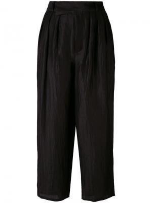 Укороченные брюки Atka Reality Studio. Цвет: чёрный