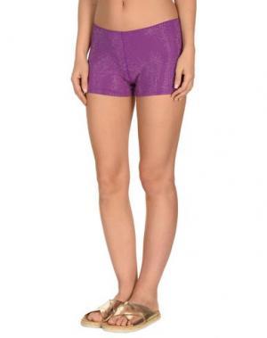 Пляжные брюки и шорты FISICO. Цвет: фиолетовый