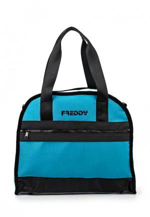 Сумка Freddy. Цвет: голубой