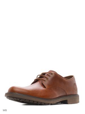 Туфли TIMBERLAND. Цвет: коричневый