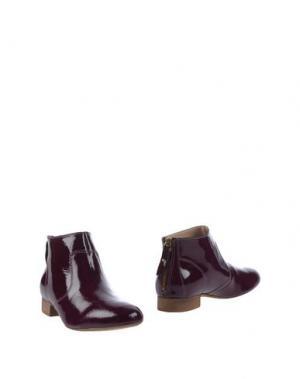 Полусапоги и высокие ботинки EYE. Цвет: пурпурный