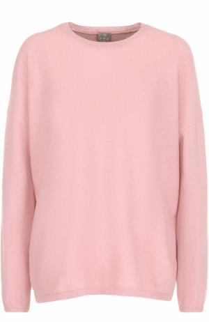 Кашемировый пуловер прямого кроя FTC. Цвет: розовый