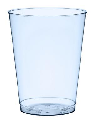 Стакан пластиковый, 250 мл, BBQ BLUE LINE, 10 шт. DUNI. Цвет: голубой