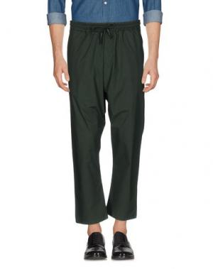 Повседневные брюки C.Y.H. CLAP YOUR HAND. Цвет: изумрудно-зеленый