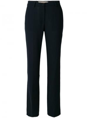 Классические зауженные брюки Piccione.Piccione. Цвет: синий