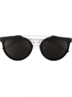 Солнцезащитные очки Giaguaro Retrosuperfuture. Цвет: чёрный
