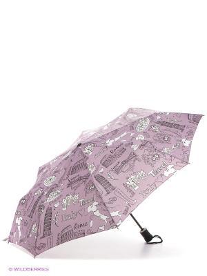 Зонт Airton. Цвет: сиреневый, белый